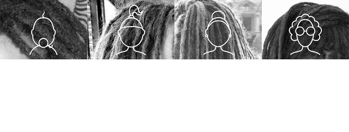 Lebenszyklus der Dreadlocks. Von Baby-Dreads bis Granny-Dreads